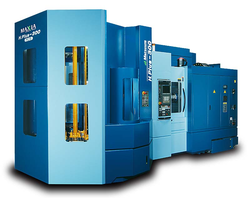 Matsuura Hplus 300 4 axis Horizontal with 15 pallet delivery system