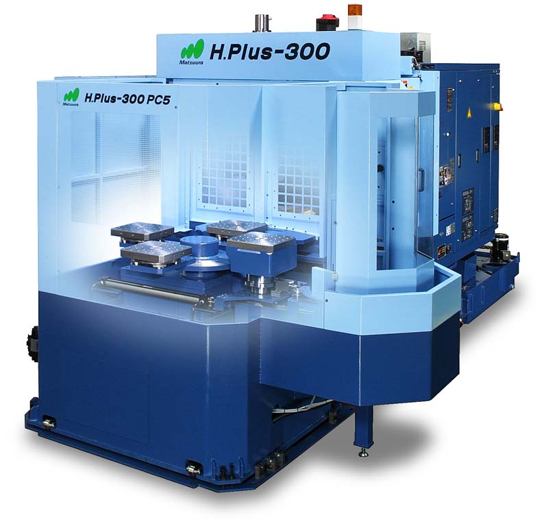 Matsuura Hplus 300 4 axis Horizontal with 5 pallet delivery system