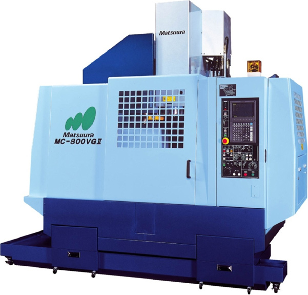Matsuura MC800 Vertical machining center with full 4th axis
