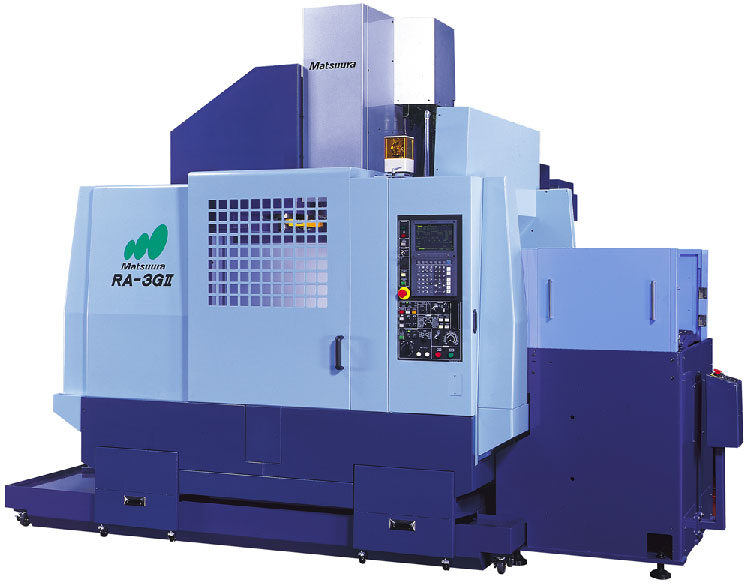Matsuura RA II F Vertical machining center with pallet changer
